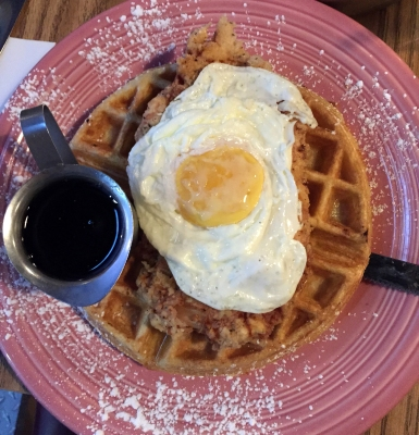 Three Whims: Pig and a Jelly Jar, unique and tasty Salt Lake restaurant - chicken and waffles