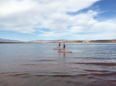 Three Whims- Sand Hollow Reservoir SUP