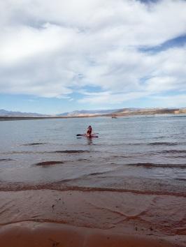 Sand Hollow Reservoir SUP