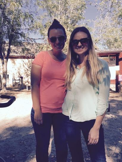 Pumpkin Days at Wheeler Farms- Blondie and Sis