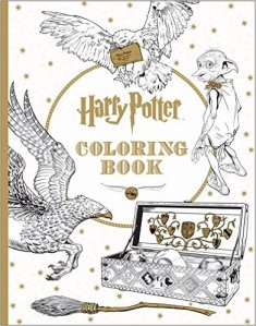 Three Whims: Grown-up Coloring Book Choice - Harry Potter
