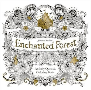 Three Whims: Grown-up Coloring Book Choice - Enchanted Forest