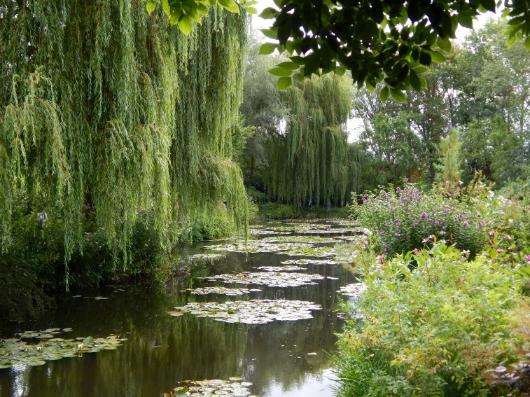Place to Visit- Ponds at Monet's Gardens in Giverny