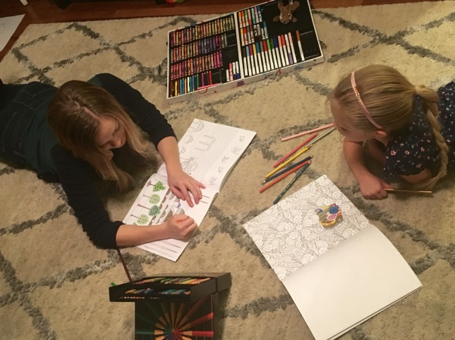 Three Whims: Blondie and Reuvo Coloring