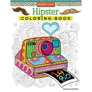 Three Whims: Grown-up Coloring Book Choice- Hipster Coloring Book