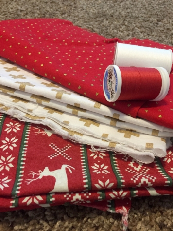 Three Whims: DIY Christmas Pillow Covers for beginner sewers