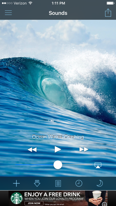 Three Whims: My Favorite Free White Noise App for Trips