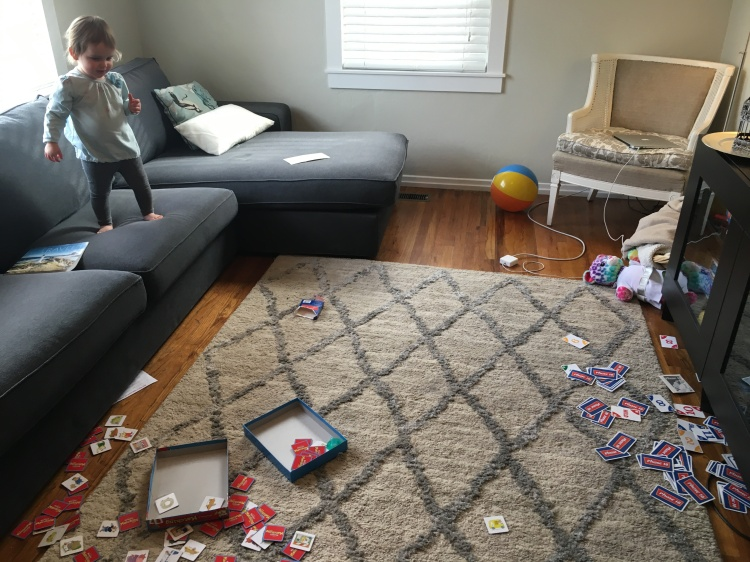 Toddler Time: Messy Days with Rose