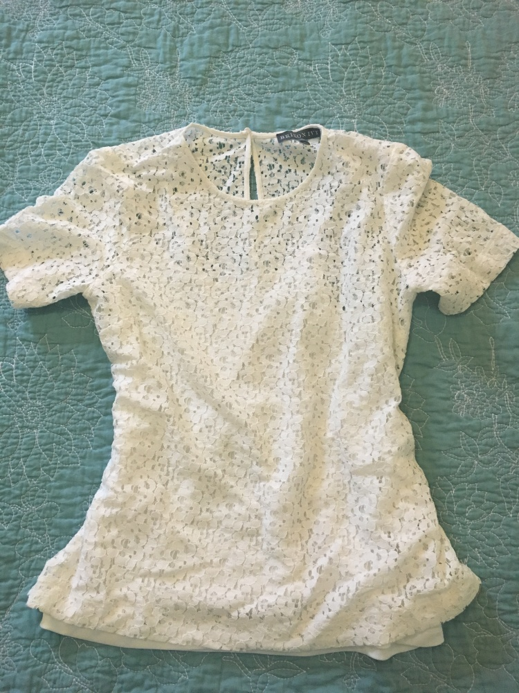 Three Whims: Review of Stitch Fix #9 Brixon Ivy Pinol Lace Overlay Blouse