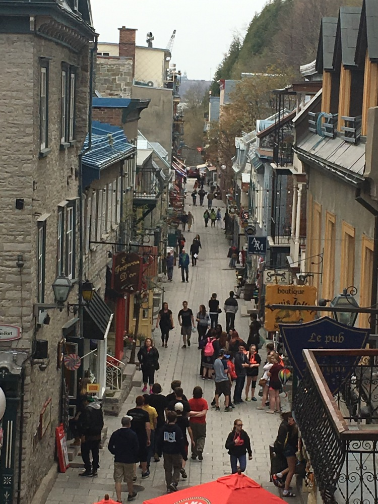 Three Whims: Three day travel itinerary for Montréal and Quebec City