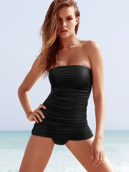 Victoria's Secret - Strapless Shaping Swim Dress