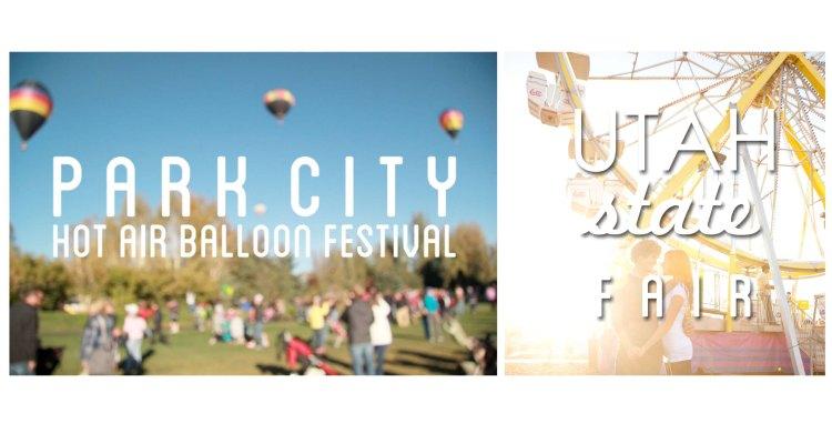 Two favorite utah fall events